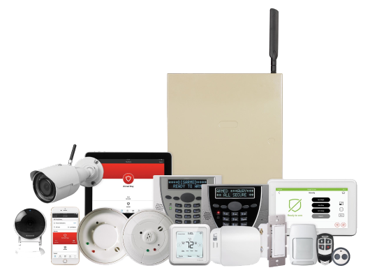 Intrusion devices for commercial security systems